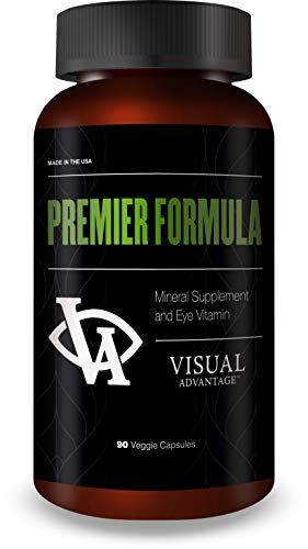 Premier Formula for Eye Health - Three Month Supply - Developed for Age Related Macular Degeneration (AMD) - Only 1 Pill Per Day