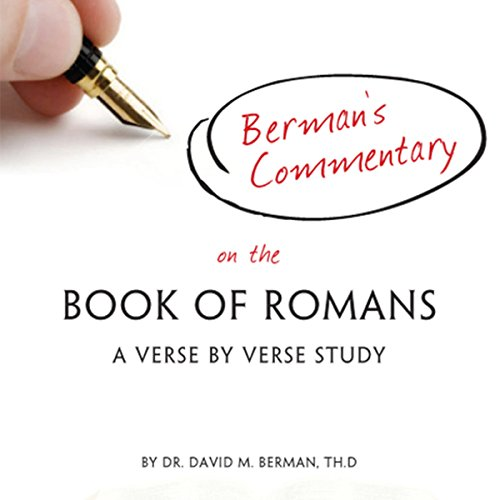 Berman's Commentary on the Book of Romans audiobook cover art