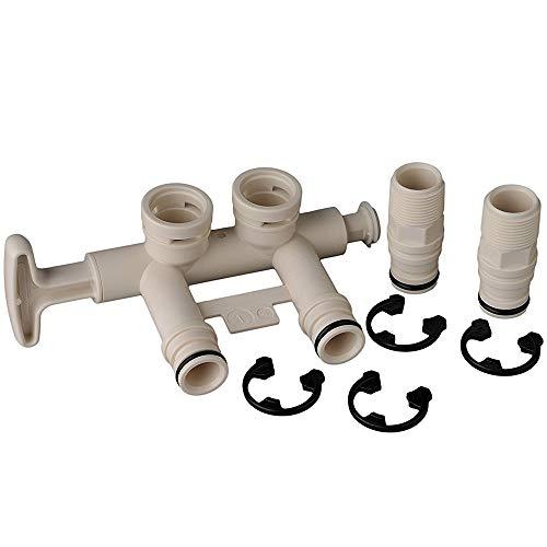Water Softener Standard Bypass Valve Assembly - Part # 7345388
