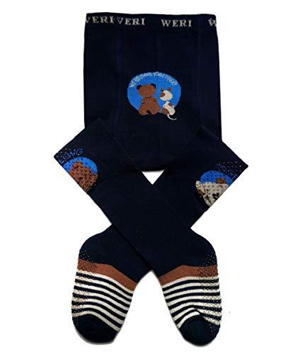 Weri Spécials Baby et Enfants Collants d'éveil avec revêtement ABS – monde technique pour les petits garçons dans plusieurs designs - Bleu - 86 cm-92 cm