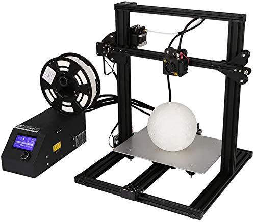 3D Printer, Creality CR-10Mini 3D Printers I3 DIY Kit Aluminum With Resume Print 300X220x300mm Dual Z Axis Lead Screw Fast Assembled DIY Kit