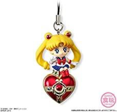Bandai Shokugan Sailor Moon Twinkle Dolly (Volume 2) Sailor Moon with Cosmic Heart Compact Deformed Mascot Charm