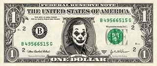JOKER on a Real Dollar Bill Joaquin Phoenix Collectible Money Cash Rare Mint $1
