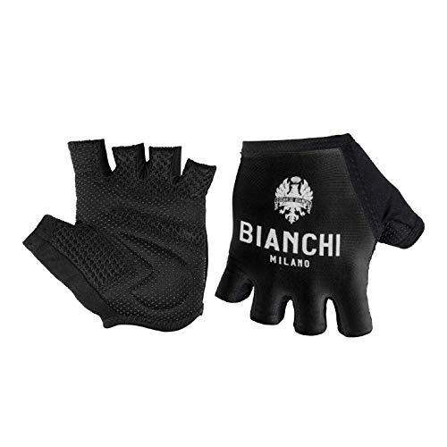 Bianchi Milano Unisex's Divor1 Cycling Mitts, Black, XL