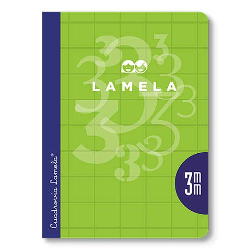 Cuaderno Lamela 1/4 50 hojas Cuadricula 4mm ⭐