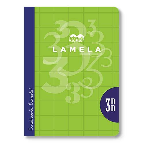 Cuaderno Lamela 1/4 50 hojas Cuadricula 4mm