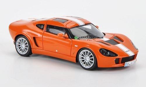 Melkus RS 2000, 2010, orange mit weissen Streifen, 2010, Modellauto, Fertigmodell, Minichamps 1:43