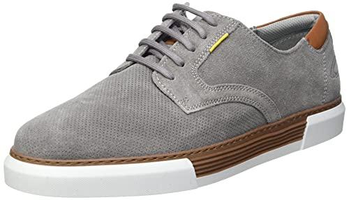 camel active Herren Bayland Sneaker, Light Grey, 50 EU