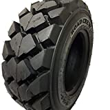 (1 TIRE) 12-16.5 Skid Steer Loader Tire 14 PLY, AIOT-27 HEAVY DUTY 105 LBS,...
