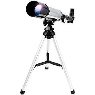 Astronomical Telescope Zoom HD Outdoor Monocular Space Telescope With Tripod 360/50mm Spotting Scope for Kids Beginners - Uverbon