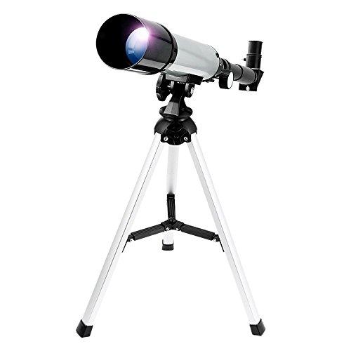 Telescopio Astronómico Zoom HD al Aire Libre Monocular Espacio Telescopio con Trípode Telescopio terrestre para Niños, Principiantes - Uverbon