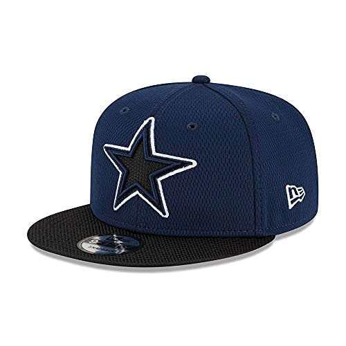 New Era Dallas Cowboys Official 2021 NFL Sideline 9FIFTY Snapback Cap Road, M/L