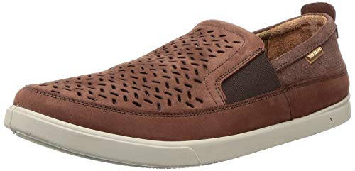 Woodland Men's Rust Brown Leather Moccasin-10 UK (44 EU) (OGC 2570117)
