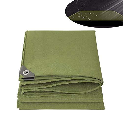ZGYQGOO Toile Protection pour bâche Protection en Toile bâche Ultra Polyvalente pour bâche Camping Polyvalente - 12 Tailles