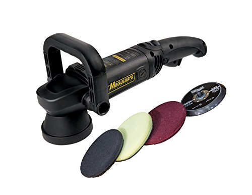 Meguiar's Dual Action DA Car Machine Polisher Pad Kit MT320PADKIT