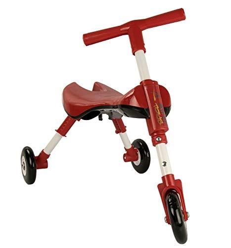 Airel Leren loopfiets | Educatieve fiets driewieler | mini-loopfiets inklapbaar | Mini loopfiets flatable | driewieler | van 1 tot 3 jaar