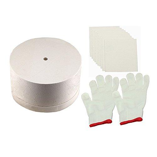 Kit grande de horno de microondas para horno de fusión de vidrio 3 piezas/set