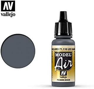 Vallejo UK Ext DK Sea Grey Paint, 17ml
