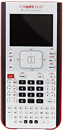 Texas Instruments Ti-Nspire Cx II-T, Calcolatrice Grafica per Matematica e Scienze, Schermo a Colori ad Alta Risoluzione - 5808830