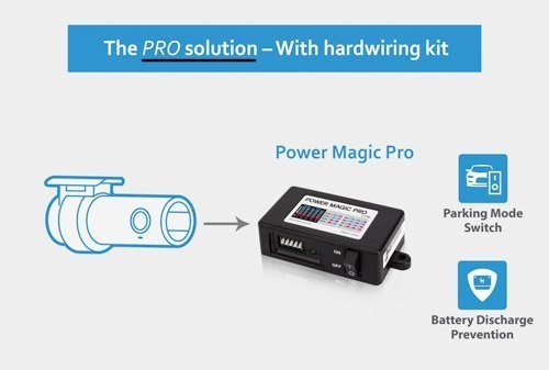 Blackvue BlackVue Power Magic Pro with 2 x Low Profile, 2 x Mini, 2 x ATO Fuse Taps and 5amp Fuses for Any Blackbox Dash CAM Parking Mode