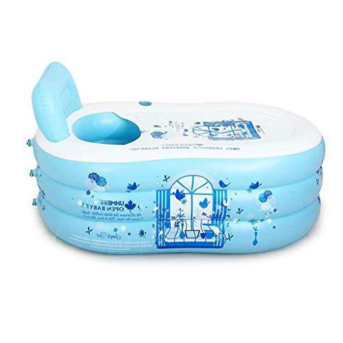 Xiao Jian Badkuip, zwembaden dikkere ouders zwembad opblaasbare badkuip sauna emmer vouwen kunststof badkuip slang pomp badkuip