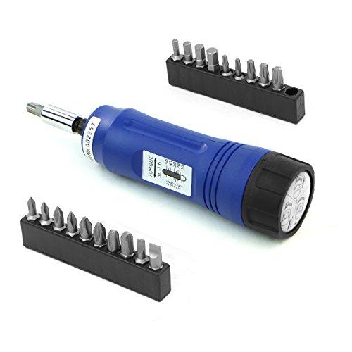Stark 21pcs Adjustable Torque Screwdriver 1/4' inch Drive with...