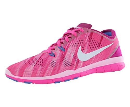 NIKE Damen Laufschuh WMNS Nike Free TR 5 Print pink, Größe:43