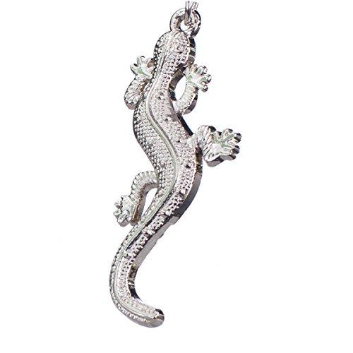 """nanomondo Schlüsselanhänger """"Gecko"""" aus Metall N1048"""