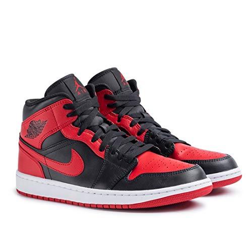 Nike Air Jordan 1 Mid Banned Bred (2020) 554724-074 - Talla 40