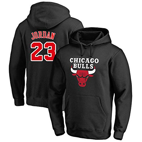 CAISHEN Herren Frauen Basketball Hoodie NBA Chicago Bulls 23# Jordan Youth Pullover Fashion Basketball Sports Sweatshirt Tops