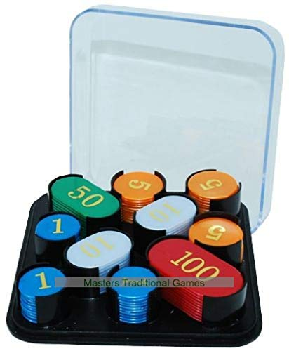 Hot Games Roulette / Casino Chips with Numbers (100 pcs)