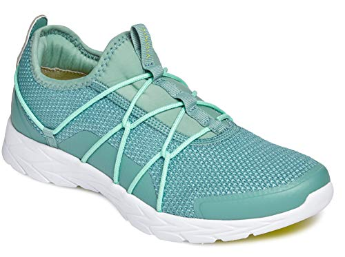 Vionic Women's Brisk Jada Slip-on Walking Shoes - Ladies Active Sneakers with Concealed Orthotic Arch Support Jade 7 Medium US