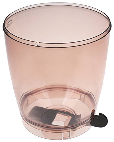 Faema Kaffeebohnenbehälter für Kaffeemühle Höhe 245mm ø 193mm Aufnahme ø 67mm braun