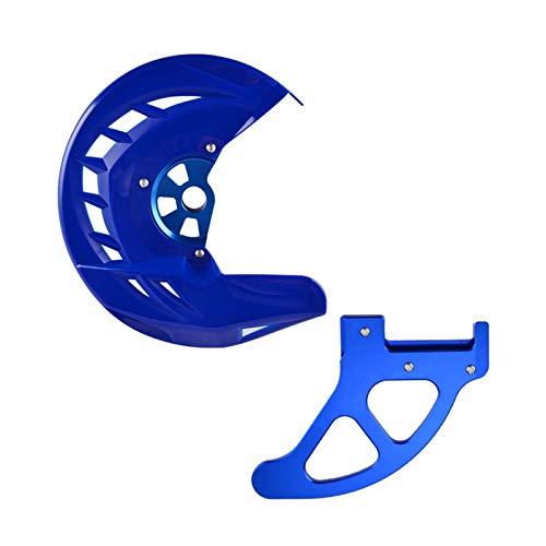 Gzcfesbn Motocicletas Parte Posterior del Frente de Disco de Frenos del Protector del Protector for KTM SX SXF XC XCF EXC EXCF 125 250 350 450 525 530 200 300 400 505 2003-2014 Durable