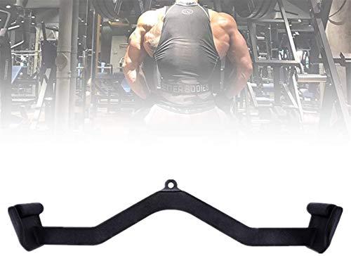 ZPCSAWA Accesorio de mango de barra de extracción resistente, accesorio de cable de agarre para entrenamiento de resistencia al suelo, multi gimnasio, fitness, entrenamiento, antideslizante, 71 cm