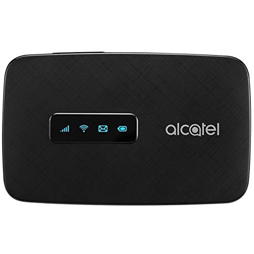 Alcatel LINKZONE | Mobile Wifi Hotspot | 4G LTE Router MW41TM | Up to 150Mbps Download Speed | WiFi Connect Up to 15 Devices | Create A WLAN Anywhere | GSM Unlocked