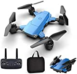 Drohne Faltbare Mini-Drohne mit Zwei hochauflösenden Kameras, Drohne mit 4K-Dual-Kamera-Quadcopter-Funkfernbedienung Mini-Drohne