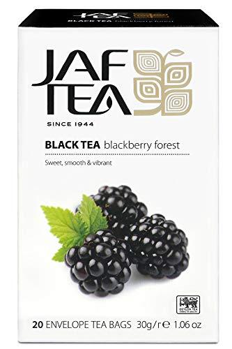 JAF TEA Schwarzer Tee - Brombeerwald - 20 Teebeutel