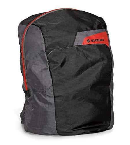Suzuki - Mochila casual Negro negro rojo 14,4 Liter Fassungsvermögen
