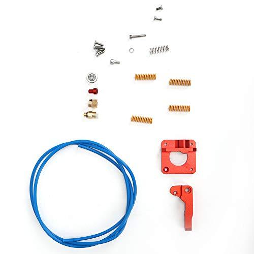 Kit Extrusora de impresora 3D tridimensional, Materiales de aluminio Impresora Boquilla Productos de plástico...