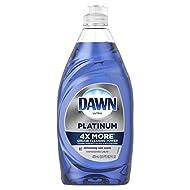 Mr. Clean, Dawn Platinum Dishwashing Liquid Dish Soap Refreshing, Violet, rain, 16.2 Fl Oz