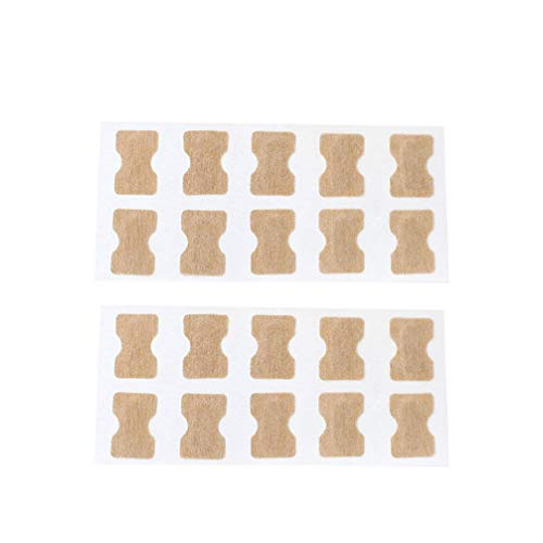 HEALLILY 2 Ensembles Autocollant D'ongle Incarné Orteil sans Colle Fichier de Correction Des Ongles Patch Correcteur de Paronychie Soin Des Pieds Traitement Outil de Pédicure