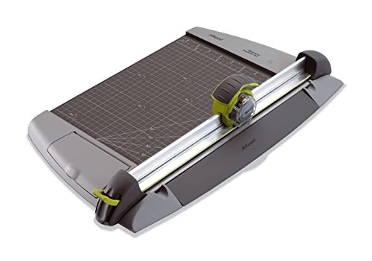 Rexel SmartCut EasyBlade Plus Trimmer A4 Charcoal 15 Sheet Capacity and EasyLock Paper Clamp