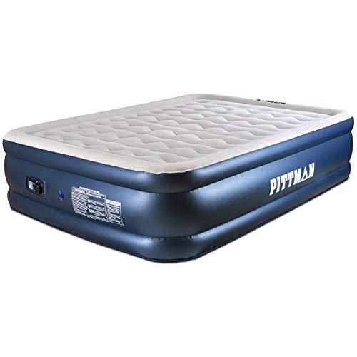 fox air beds Pittman Outdoors Queen Deluxe Indoor Home Air Mattress 20