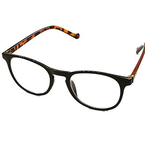 Looki.lux lichte compacte leesbril leeshulp zwart +1,0 +1,5 +2,0 +2,5 +3,0 +3,5 leesbrillen