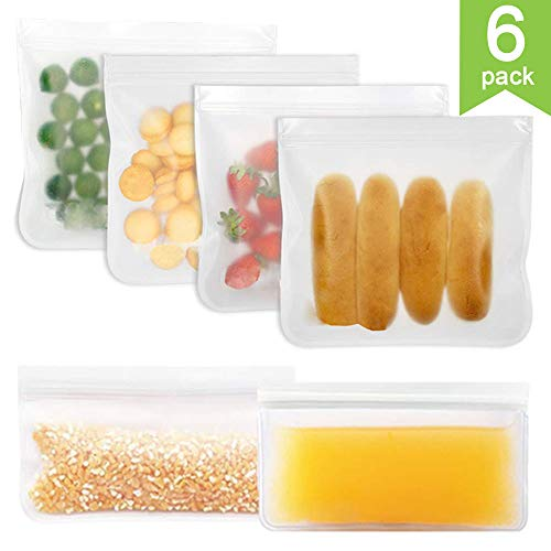 YGZN Bolsas Reutilizables Almacenamiento Alimentos,Paquete
