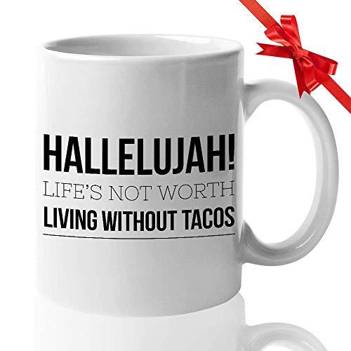 N\A TV-Serie Kaffeetasse - Halleluja! Das Leben ist es Nicht wert, ohne Tacos zu Leben - American Crime Season Action Crime Drama Thriller Kartell Teressa Mendoza