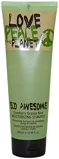 TIGI Love Peace and the Planet Eco Awesome Moisturizing Shampoo by TIGI for Unisex - 8.45 oz Shampoo, 453.59 grams