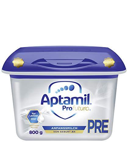 Aptamil Profutura PRE, Anfangsmilch von Geburt an, Baby-Milchpulver (1 x 800 g)