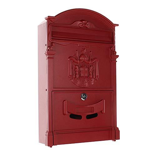 Artistiek Traditioneel A4 Rode Post Doos met Regal Crest Pro Eerste 700 Postbus